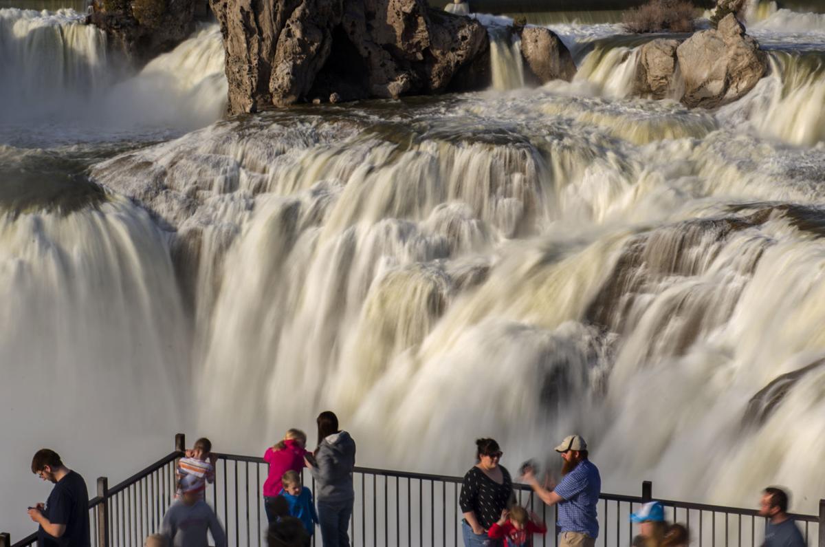 Shoshone Falls Roars