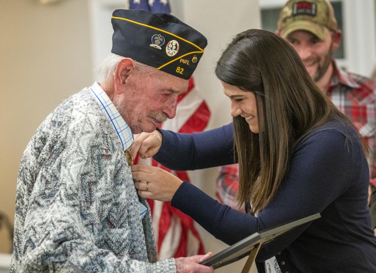 Hazelton veteran honored for service