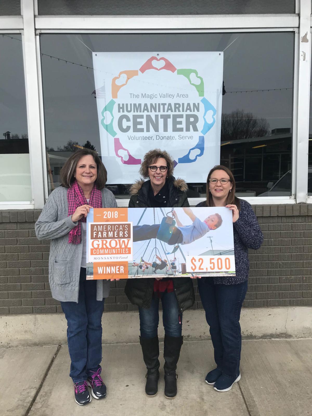 Humanitarian center donation
