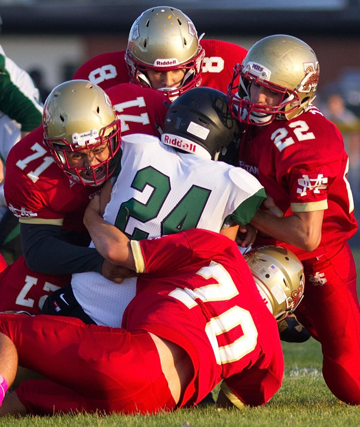 Minico vs. Burley Football