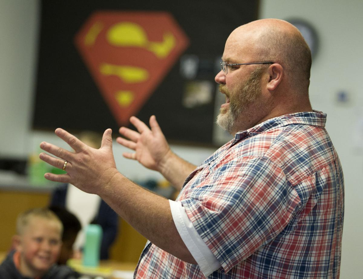 Teacher Lance Butler
