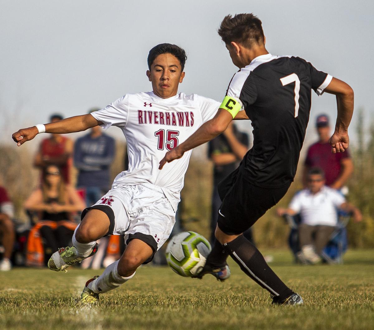 Jerome vs. Canyon Ridge boys soccer