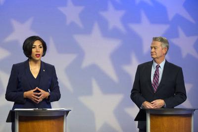 Little, Jordan talk issues at Idaho gubernatorial debate