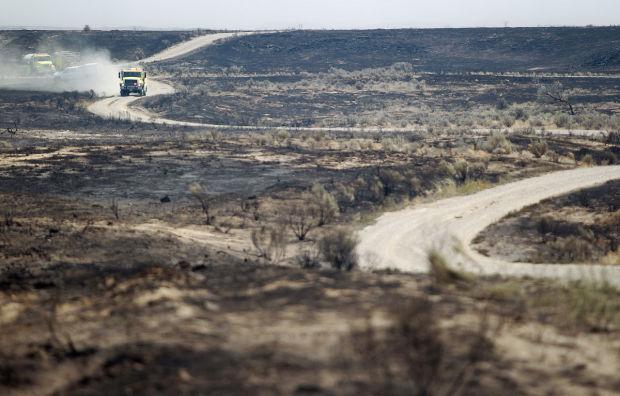 BLM Battles the Preacher Fire