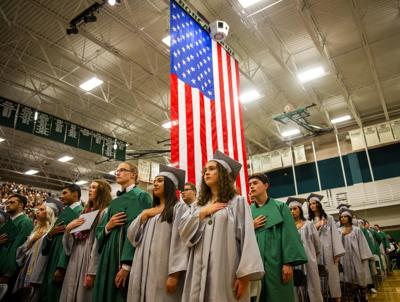 Burley High School graduation