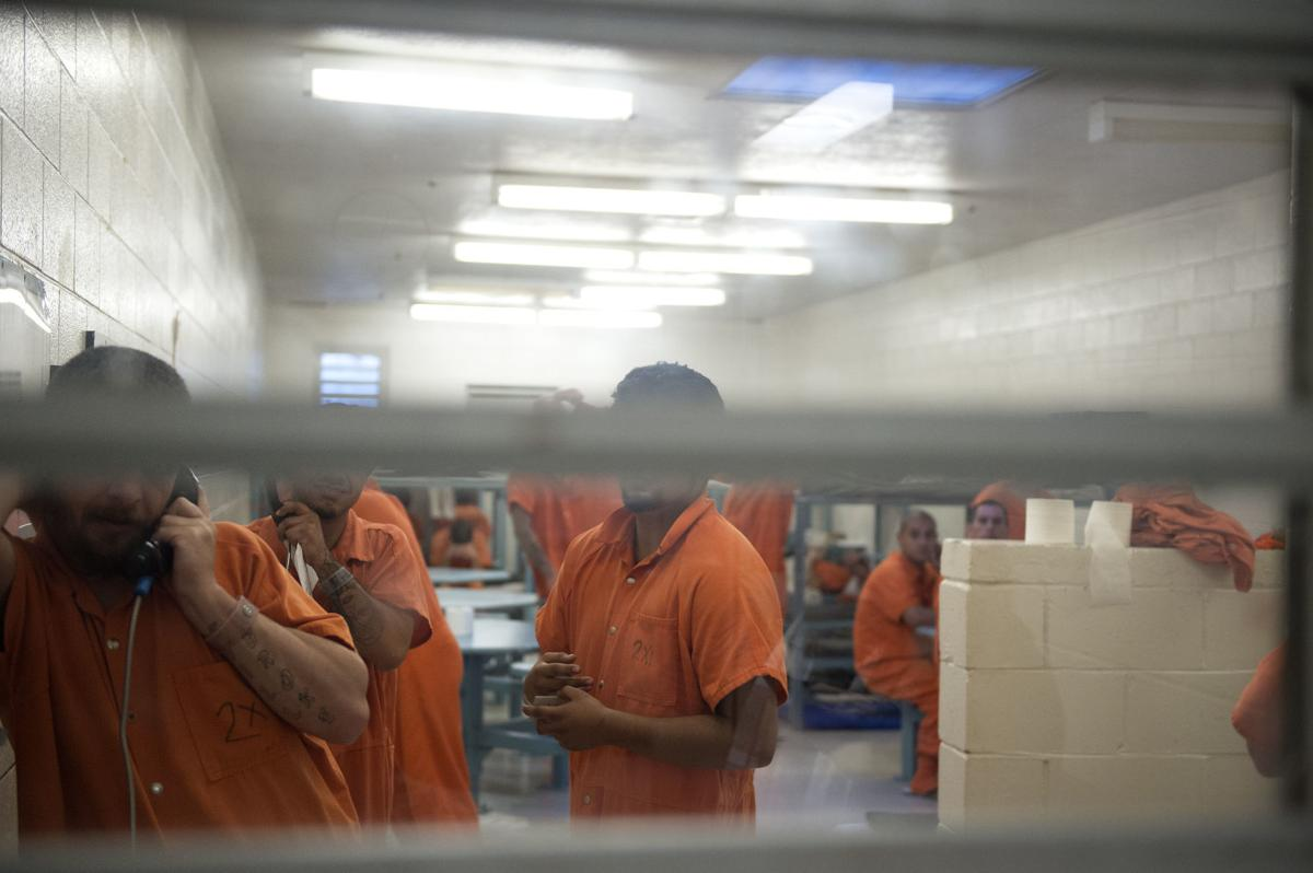Slammed with overcrowding, TF county jail makes do