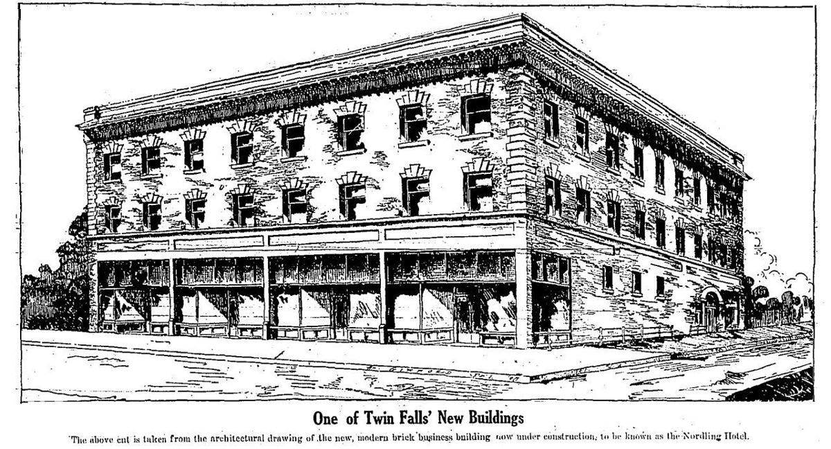 Rogerson Building Architectural Drawing