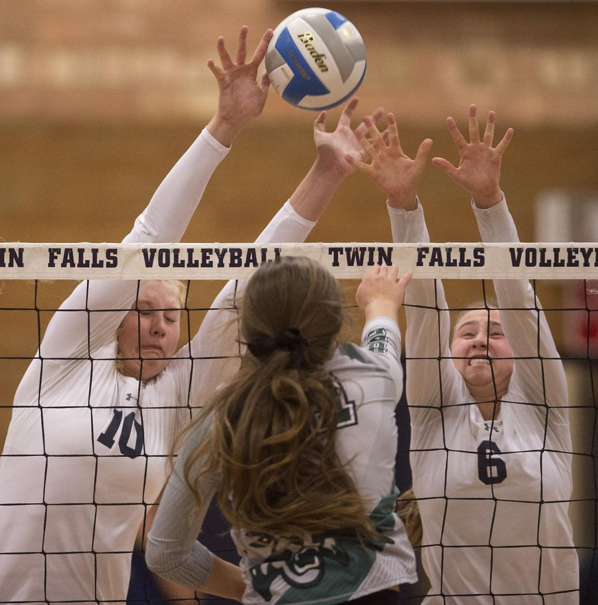 Volleyball - Burley Vs. Twin Falls
