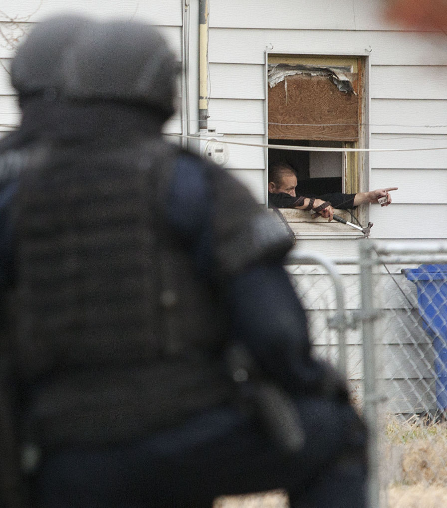 Standoff with Twin Falls Police