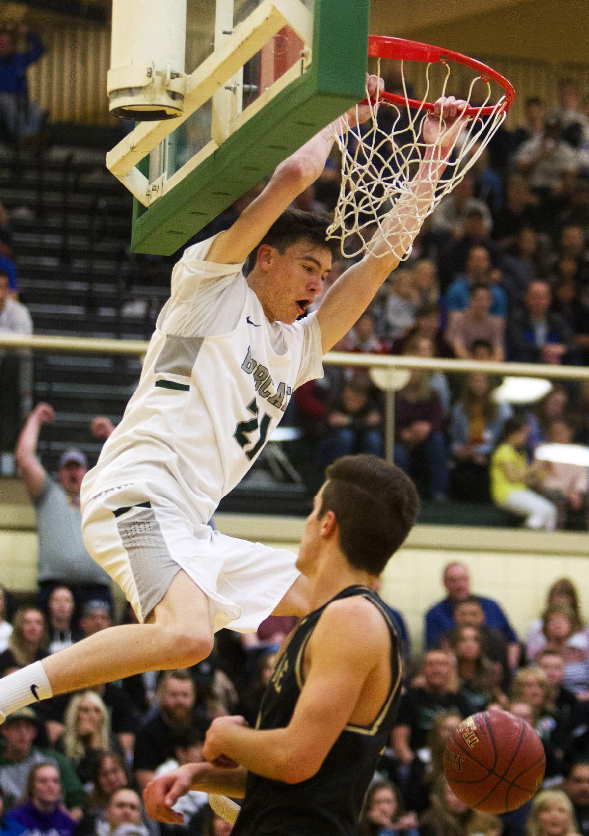 Burley vs. Vallivue state basketball
