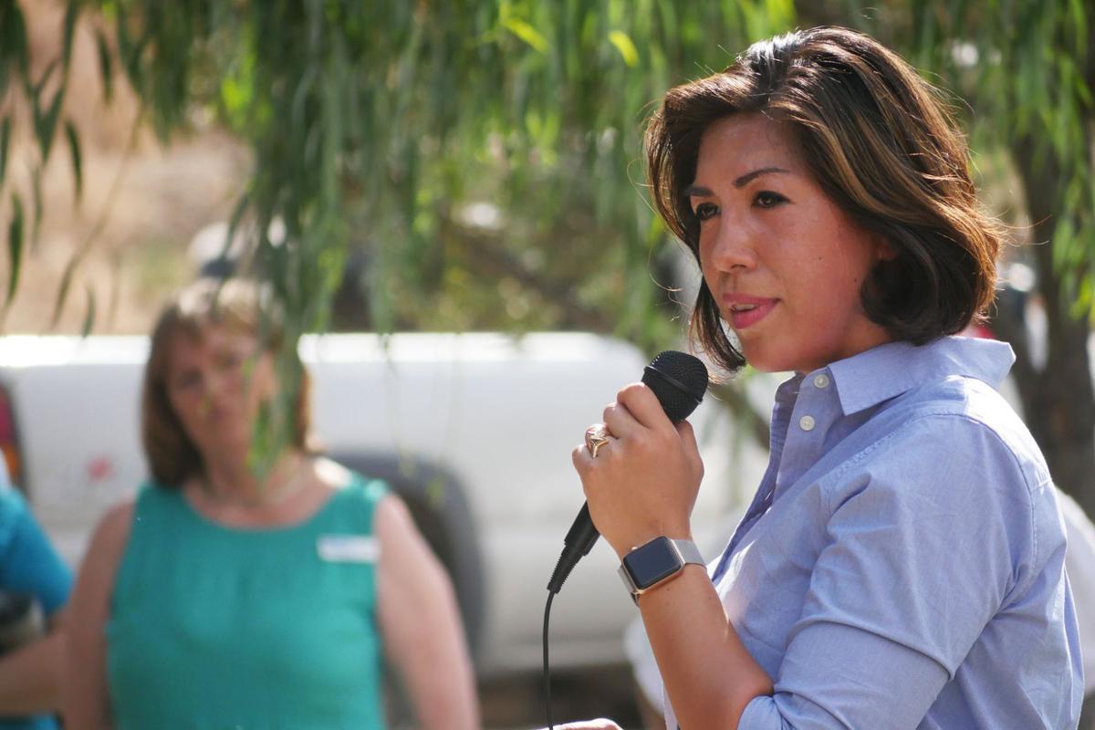 Democratic Picnic - Candidate Paulette Jordan