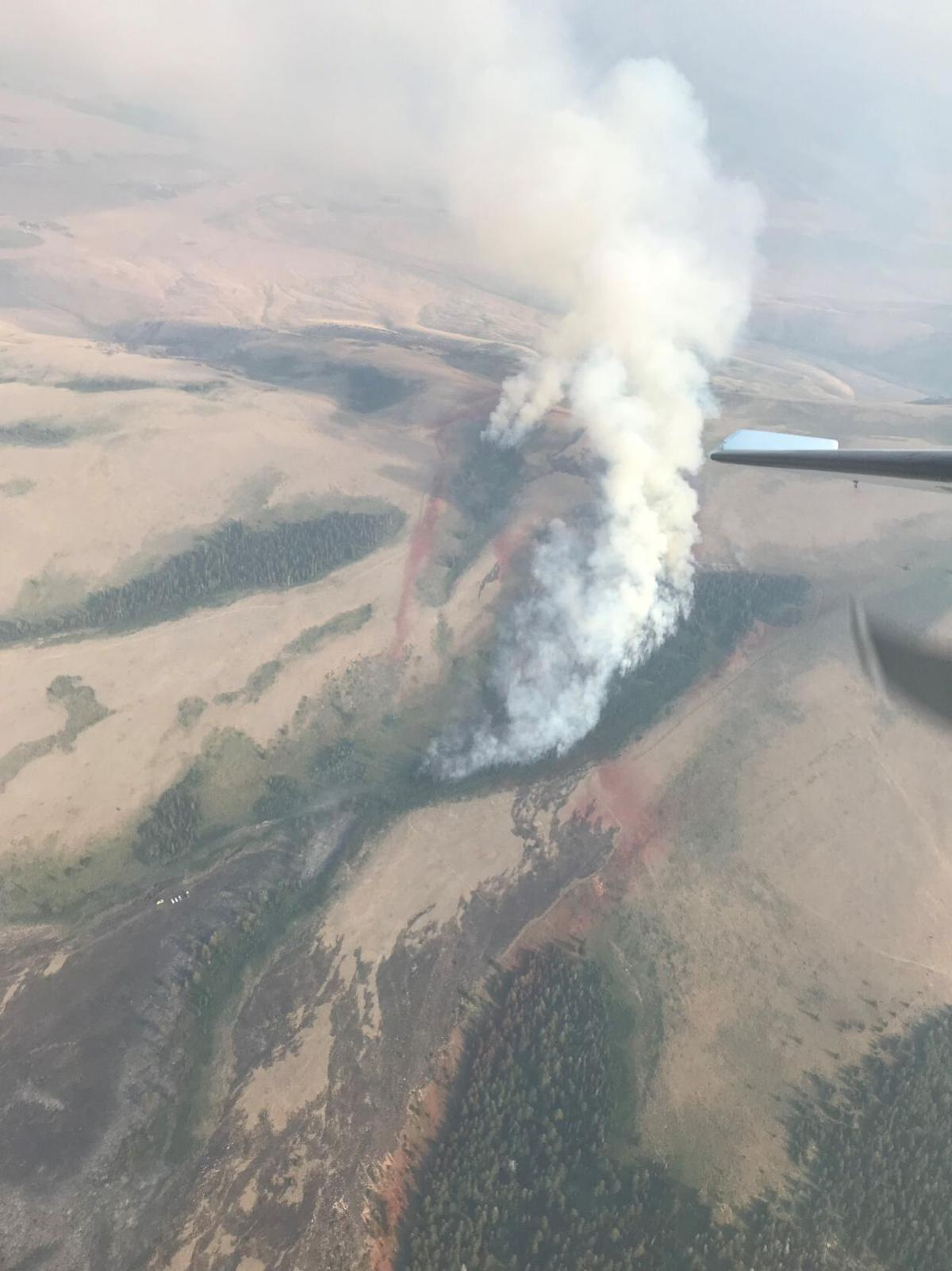 Howell Canyon fire