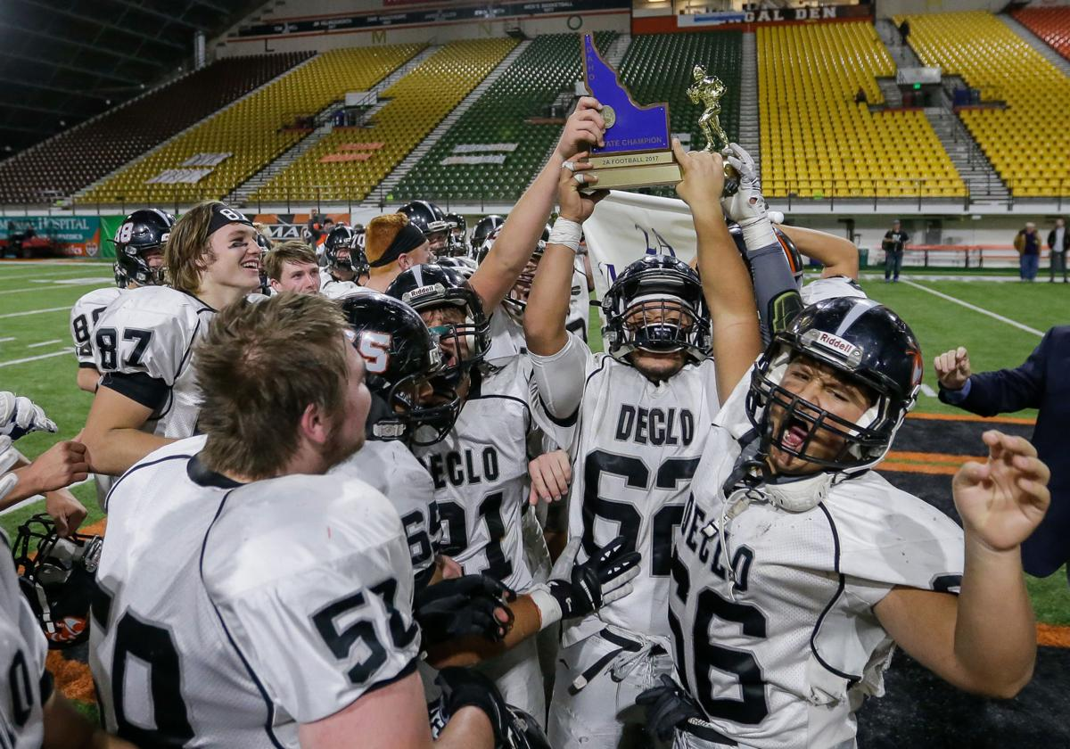 2A state football championship: Declo vs. Firth