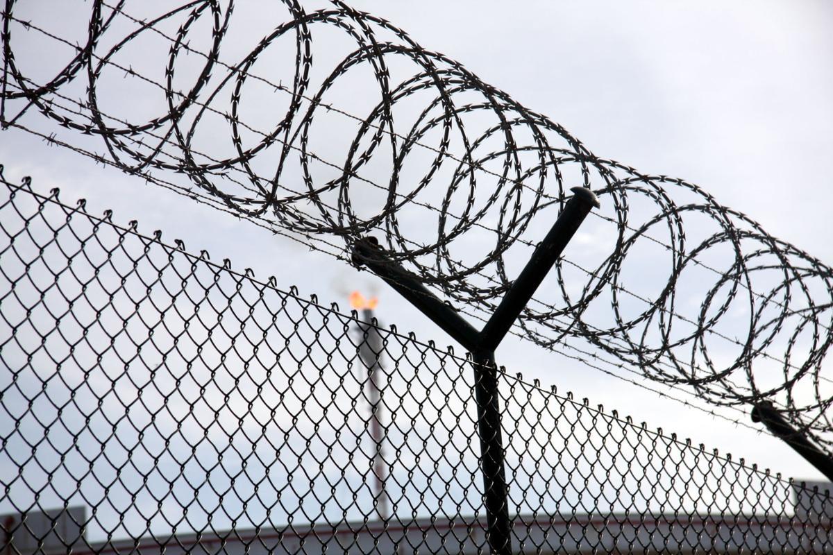 Prison fence, jail
