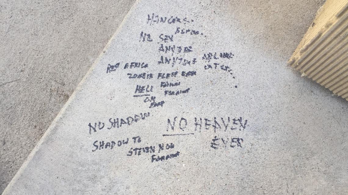 Capitol graffiti