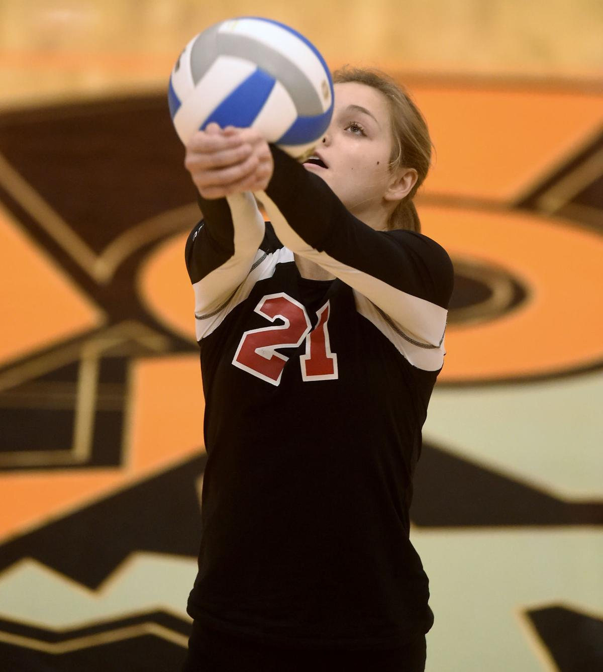 Volleyball- Gooding Vs. Buhl