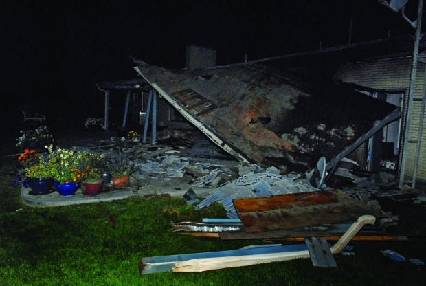 Burley Woman Injured in Home Explosion
