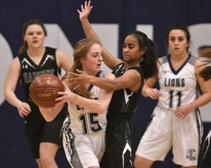 PHOTOS: Girls Basketball - Hansen Vs. LHC