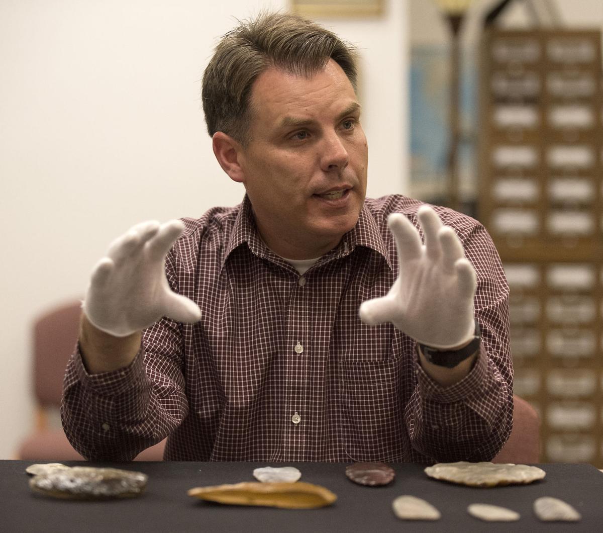 Clovis artifacts at Herrett Center