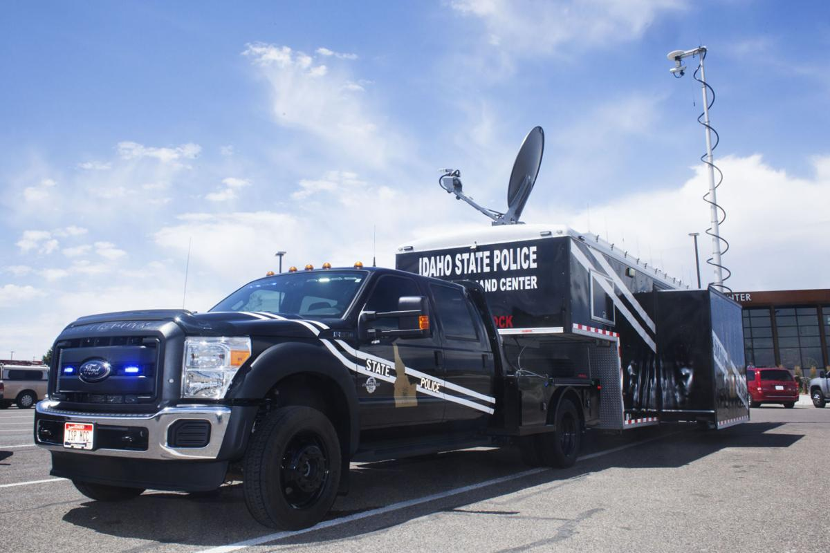 Twin Falls Deputy Designs Command Center Exterior For Idaho State Police
