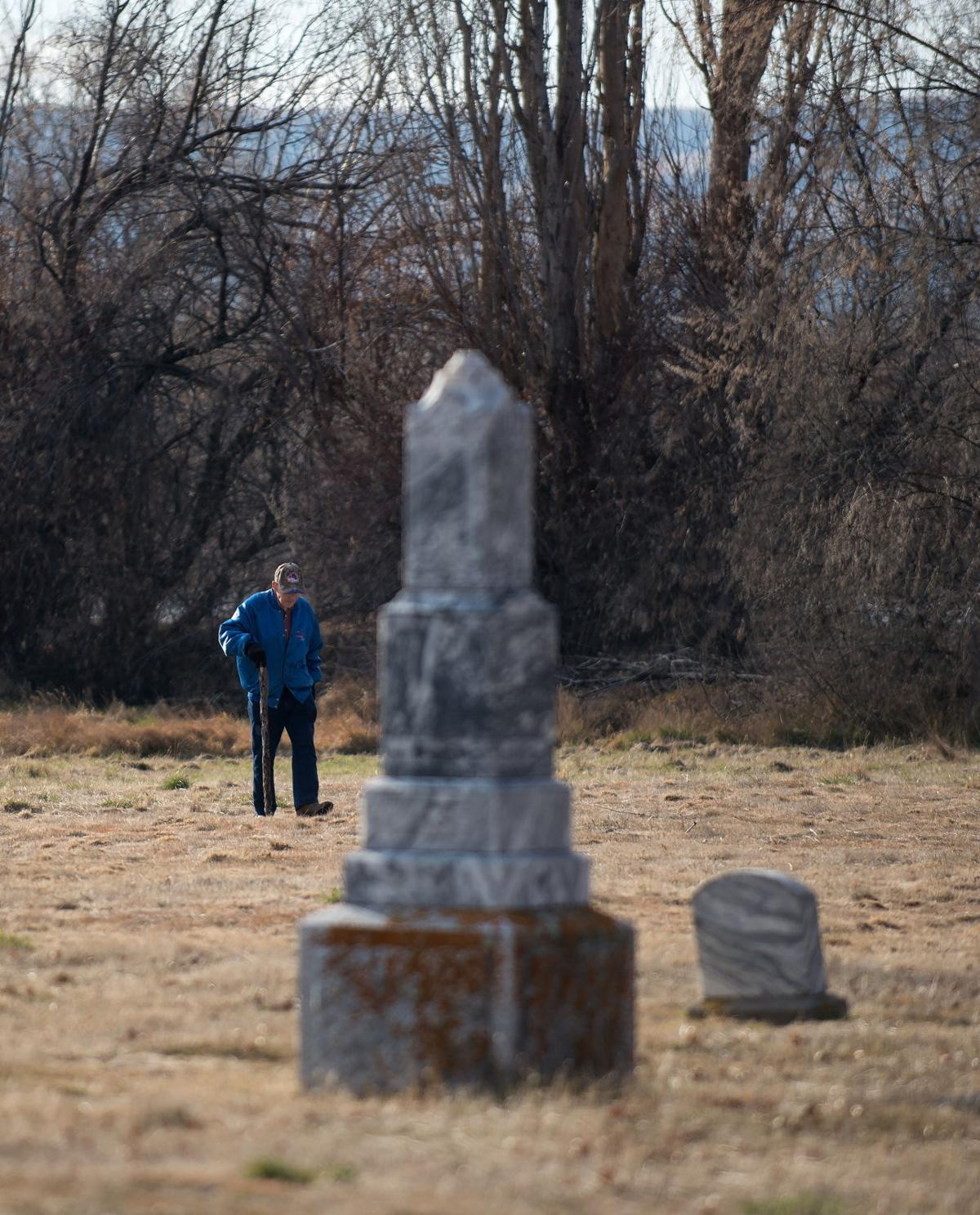 Pioneer Cemetery receives care