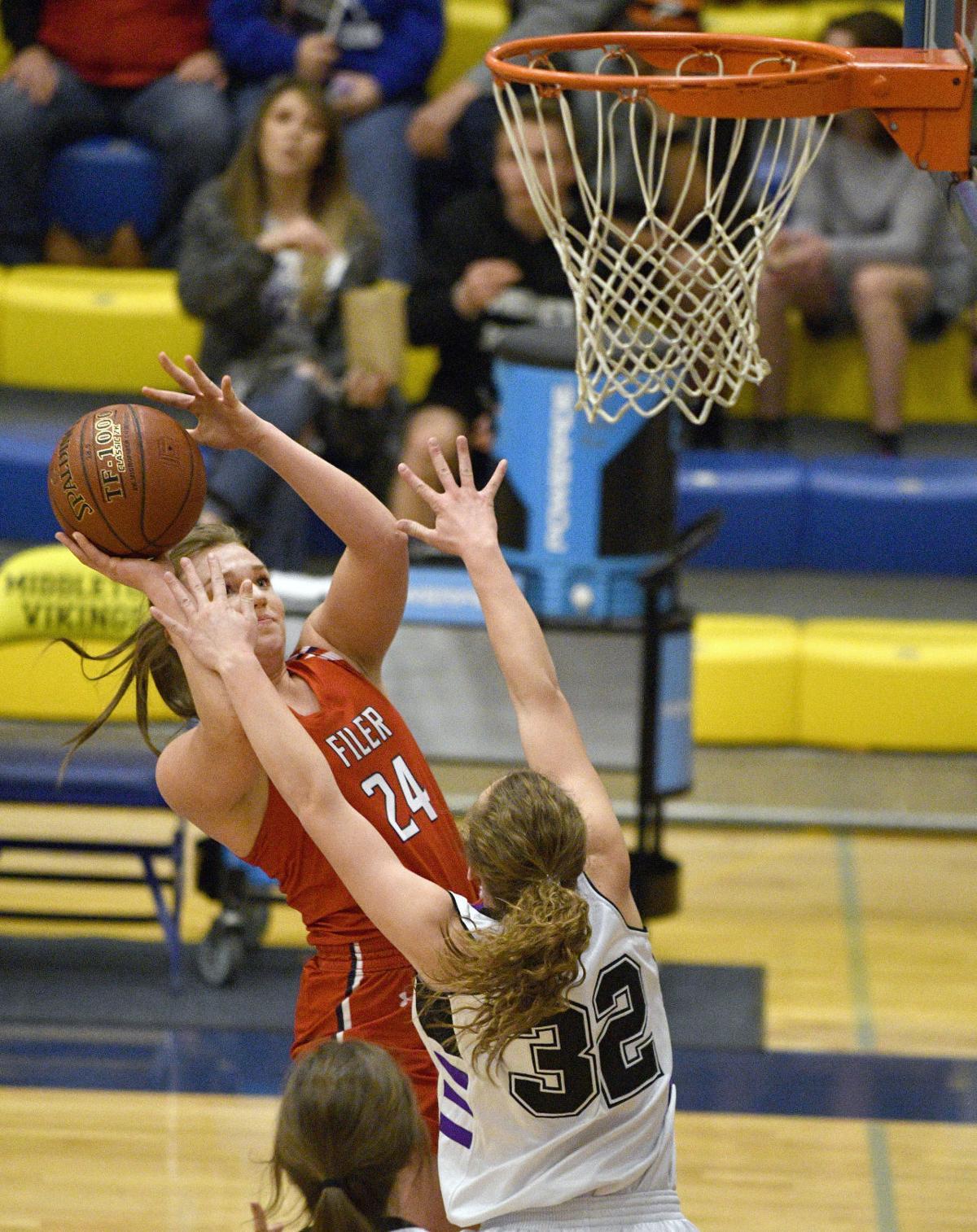 Girls State Basketball - Filer Vs. Snake River