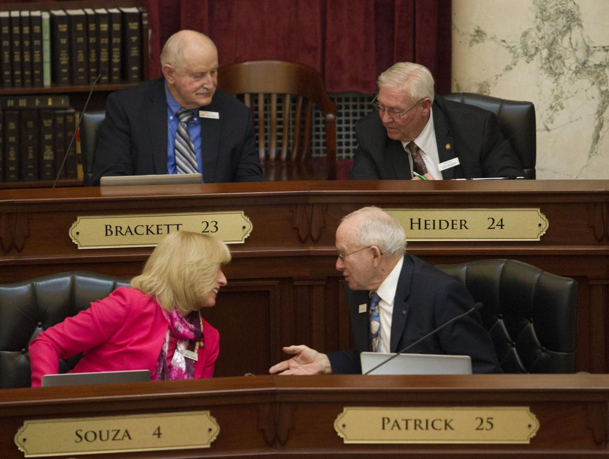 Nearing the end of the legislative session