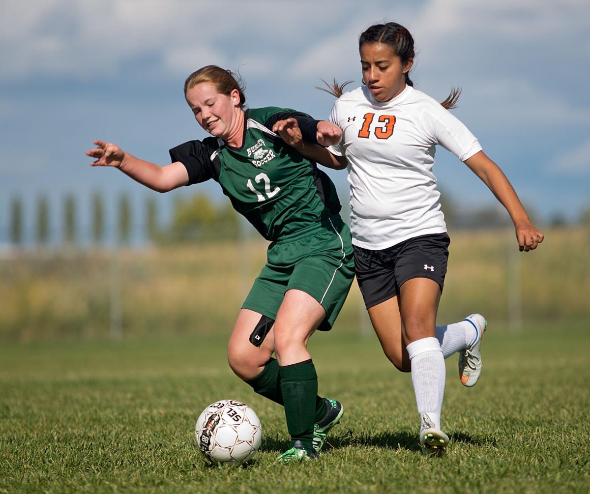 Burley vs. Jerome girls soccer