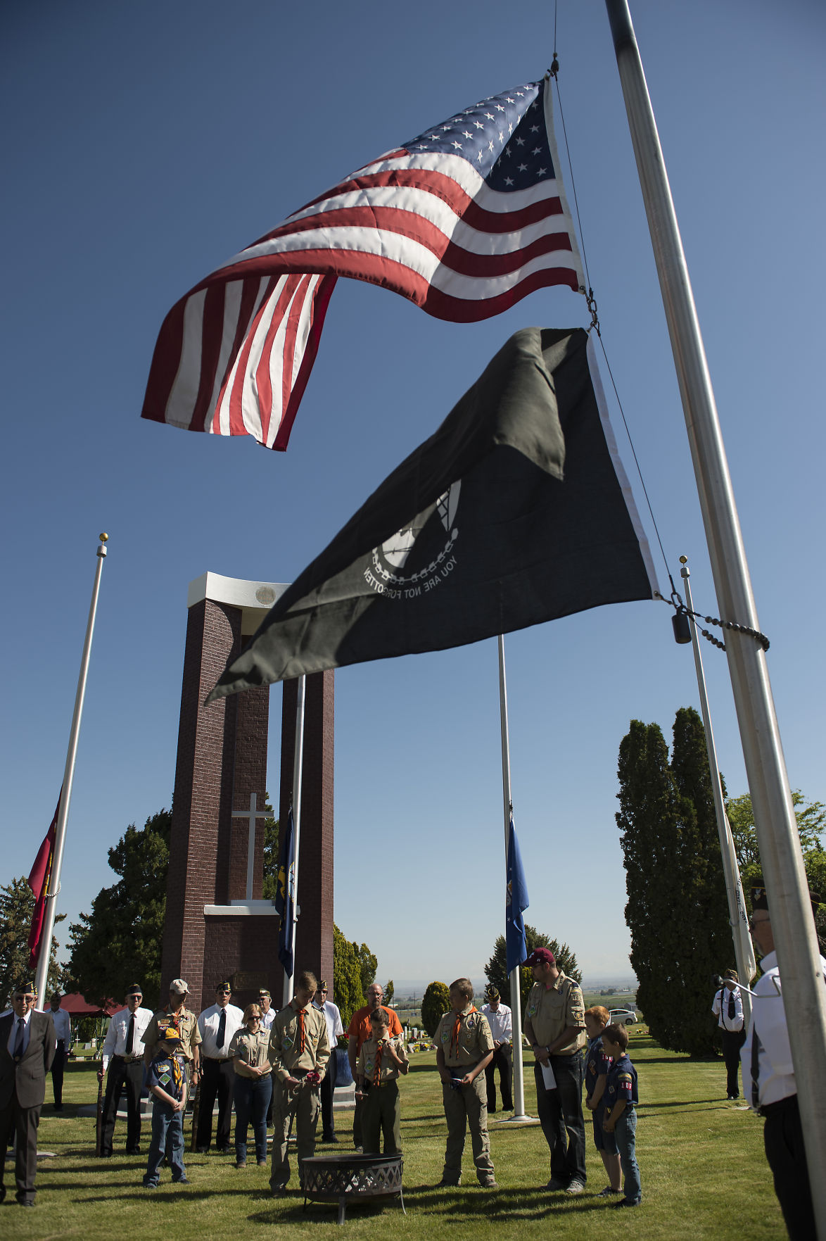 Memorial Day service in Buhl