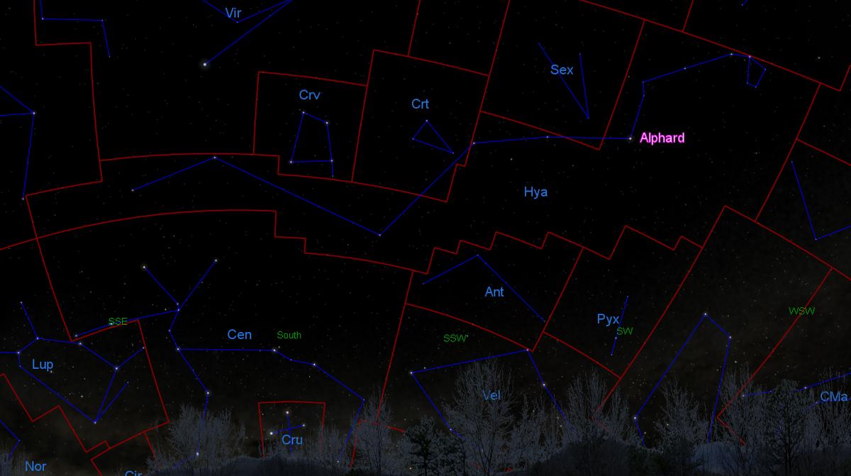 Alphard, Hydra's brightest star