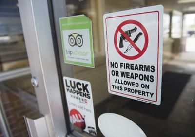Depot Grill Posts 'No Weapons' Signs | Idaho Government and