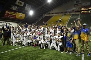 PHOTOS: 1A DII Football State Championships - Carey Vs. LHC