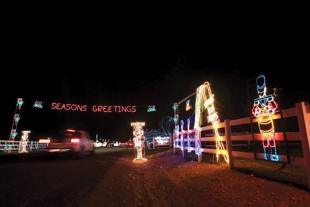 lighting the holidays southern idaho local news