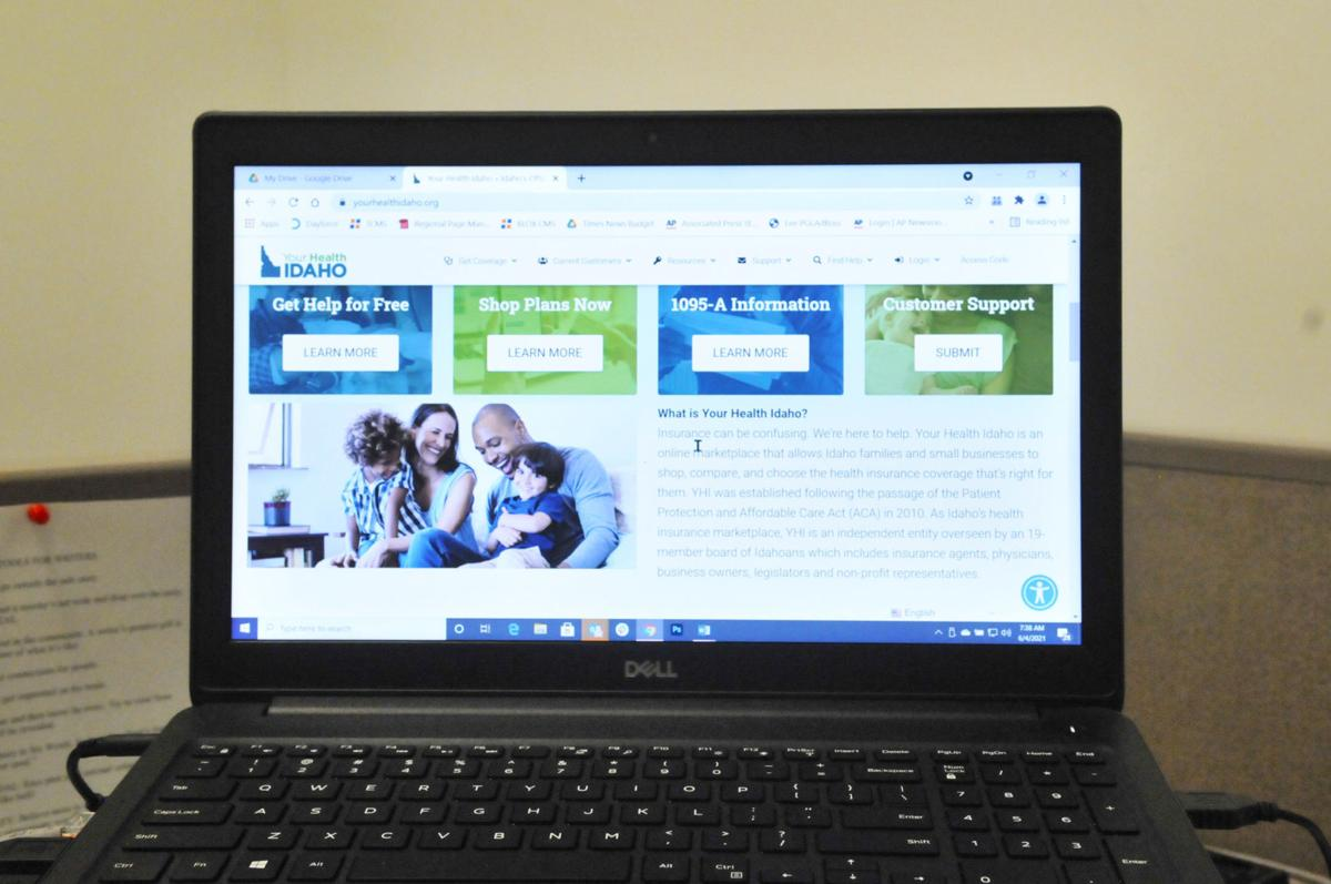 Idaho's healthcare insurance exchange website
