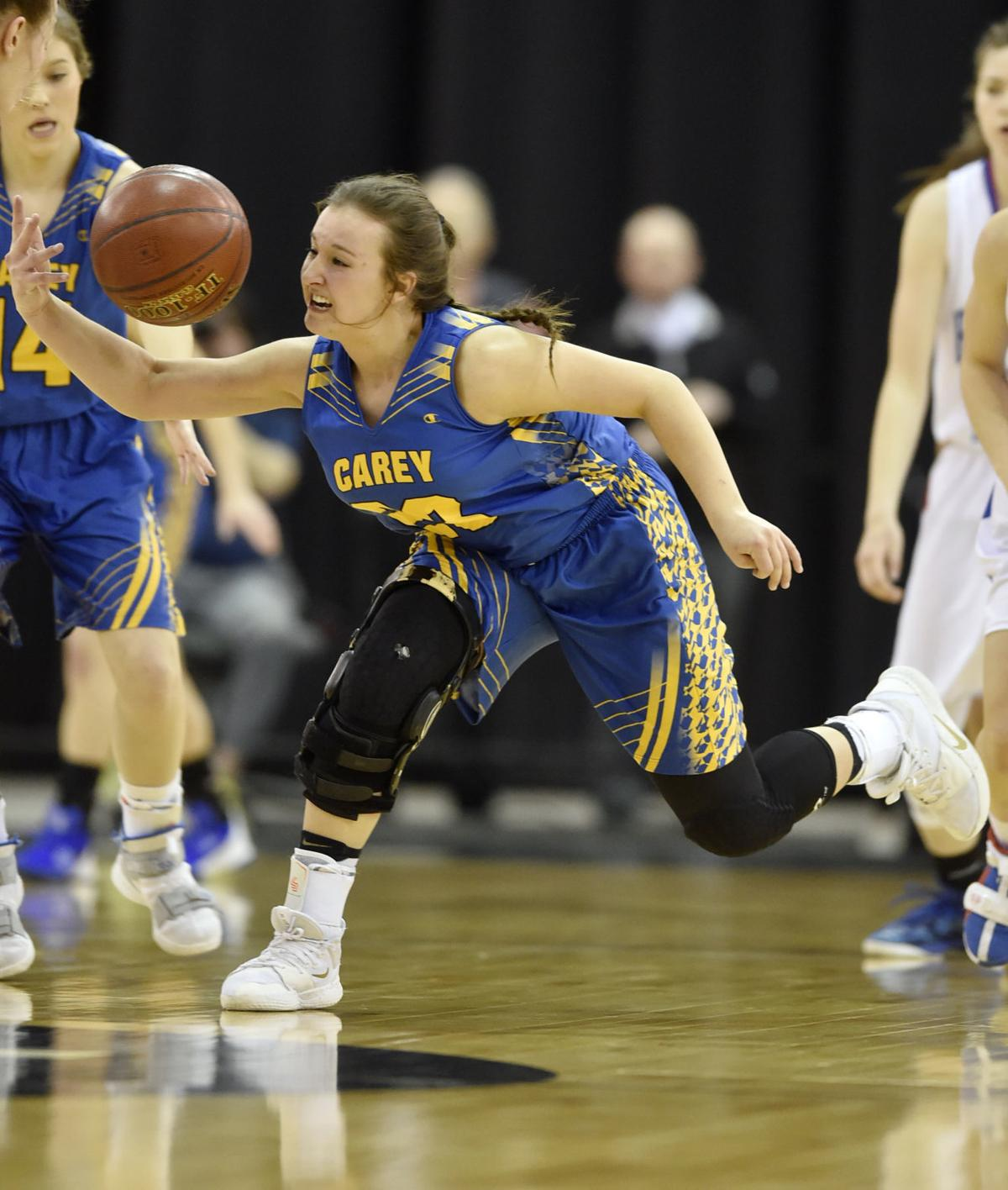Girls State Basketball - Carey Vs. Rockland