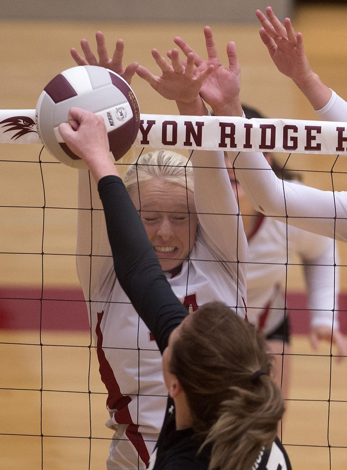 Volleyball - Highland Vs. Canyon Ridge (copy)