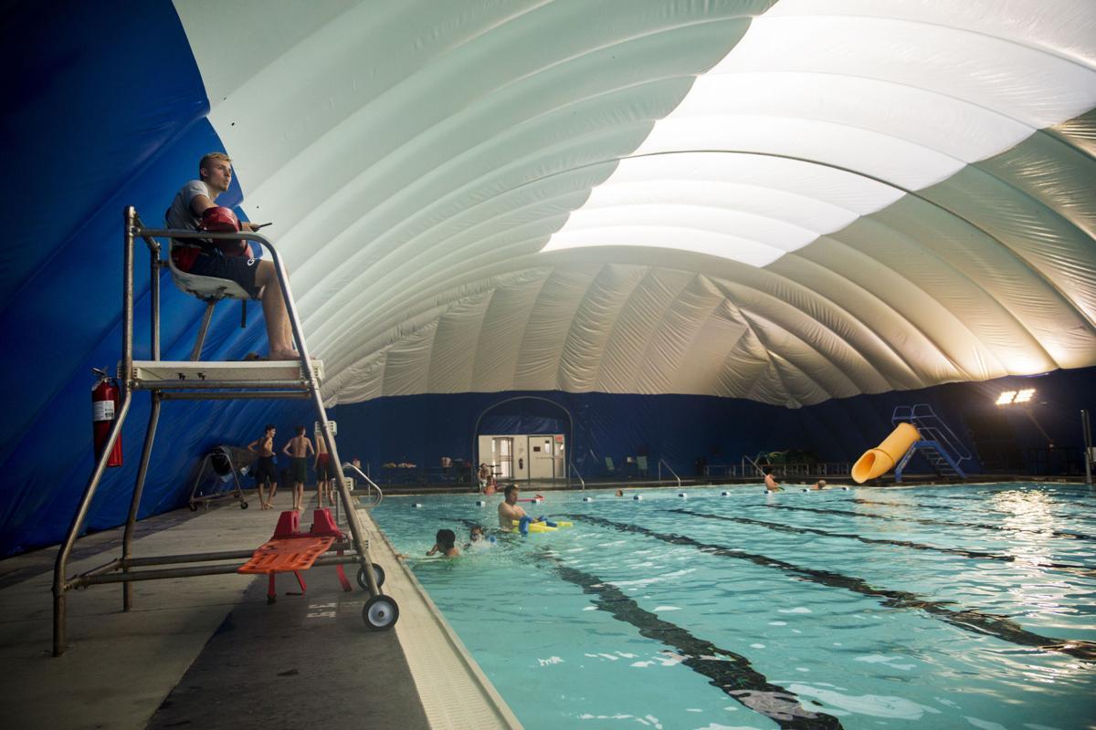 Pool bubble
