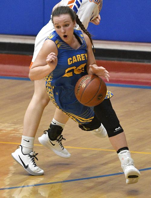 Girls State Basketball - Carey Vs. Tri-Valley