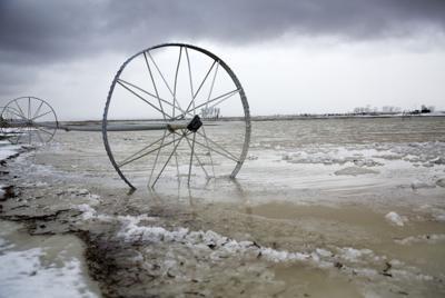 Burley flooding