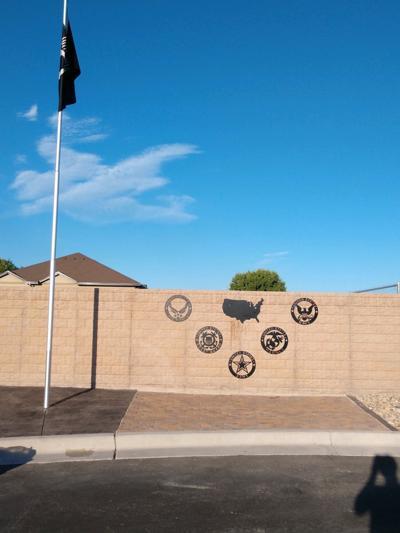Veterans memorial Eagle Scout project