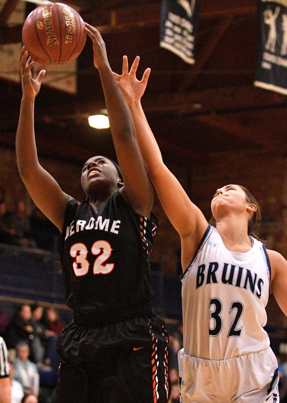 Girls Basketball - Jerome Vs. Twin Falls