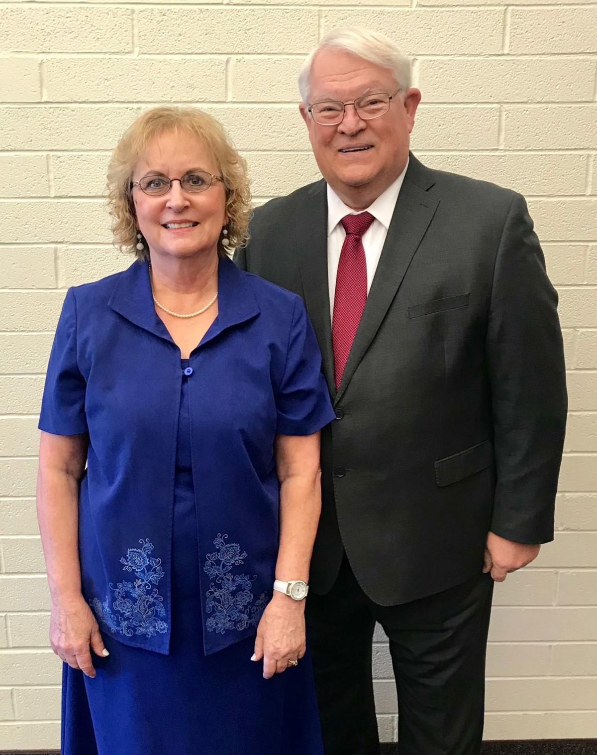 Ursula and Dennis Byington