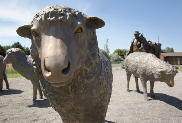 Sheep Monument Dedication