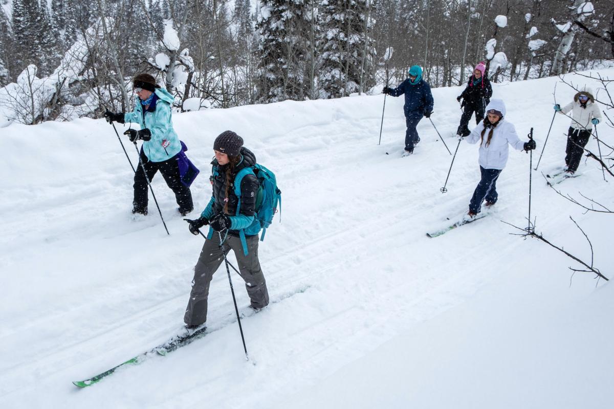 Nordic skiing at Magic Mountain
