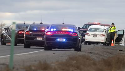 Kimberly police crash