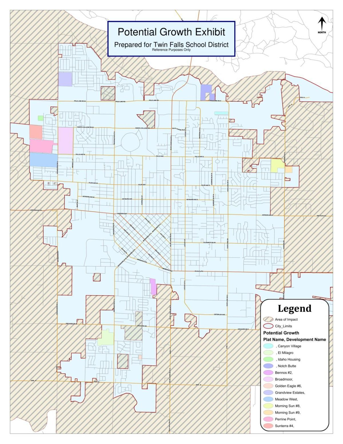 Twin Falls Potential Growth Map Southern Idaho Local News