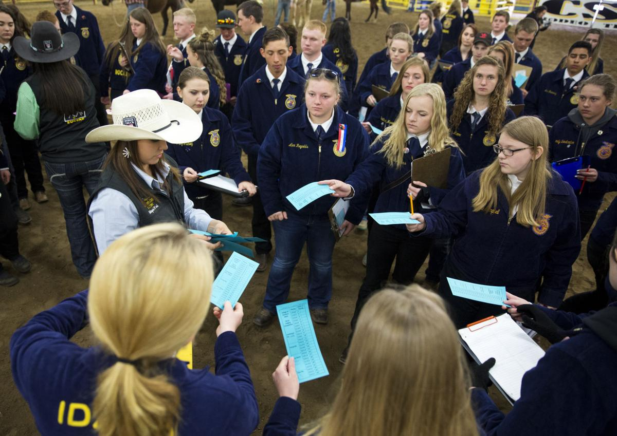 Teens Descend On CSI For FFA State Conference