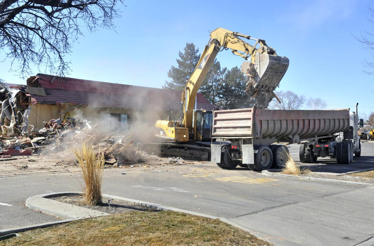 McDonald's demolition