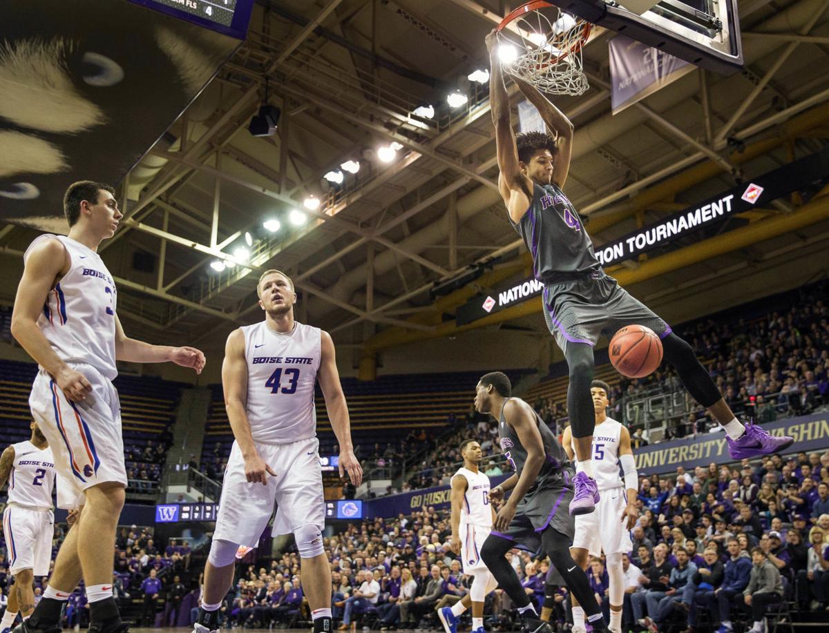 NIT Boise St Washington Basketball