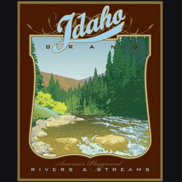 Southern Auto Parts >> Gallery: Vintage Idaho Tourism Posters